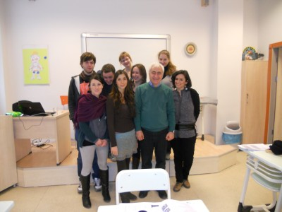EILIC grupė su nauju dėstytoju Ergun